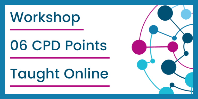 Workshop│6 CPD Points│Psychotherapy│Training